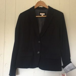 Navy 2 Button Blazer